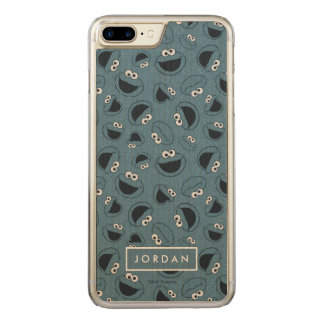 Cookie Monster | Me Hungry Pattern Carved iPhone 7 Plus Case