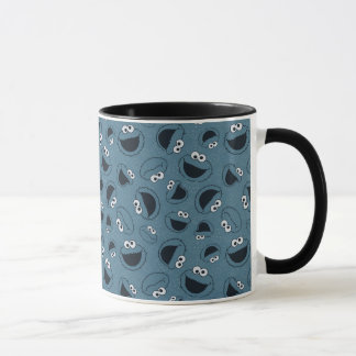 Cookie Monster | Me Hungry Pattern Mug