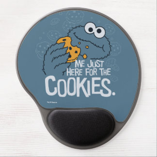 Cookie Monster | Me Just Here for the Cookies Gel Mouse Pad