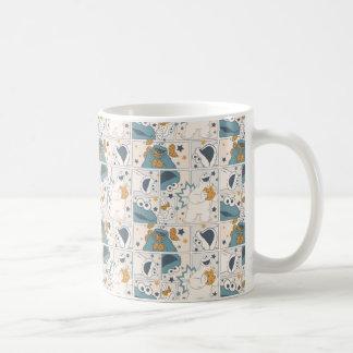Cookie Monster | Om Nom Nom Comic Pattern Coffee Mug