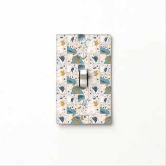 Cookie Monster | Om Nom Nom Comic Pattern Light Switch Cover