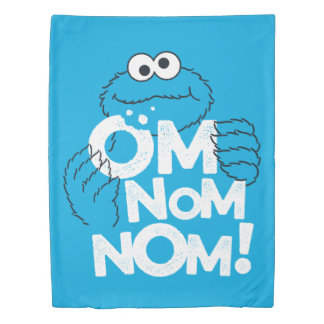 Cookie Monster | Om Nom Nom! Duvet Cover