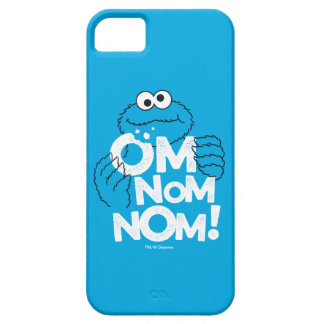 Cookie Monster | Om Nom Nom! iPhone 5 Cover