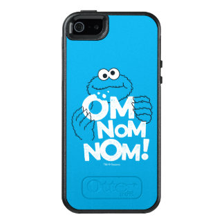 Cookie Monster | Om Nom Nom! OtterBox iPhone 5/5s/SE Case