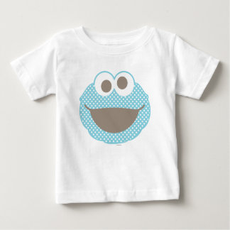 Cookie Monster Polka Dot Face Baby T-Shirt
