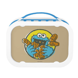 Cookie Monster Retro Lunch Box