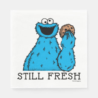 Cookie Monster | Still Fresh Disposable Napkin