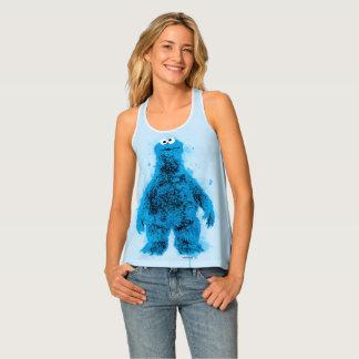 Cookie Monster | Watercolor Trend Tank Top