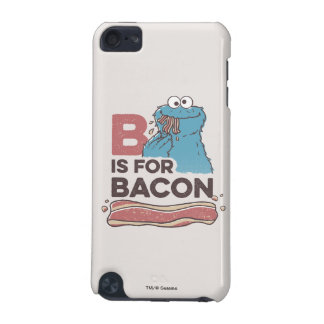 Cookie MonsterB is for Bacon iPod Touch (5th Generation) Covers