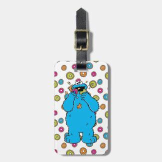 Cookie MonsterDonut Destroyer Bag Tag