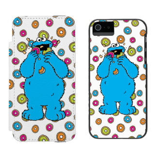Cookie MonsterDonut Destroyer Incipio Watson™ iPhone 5 Wallet Case