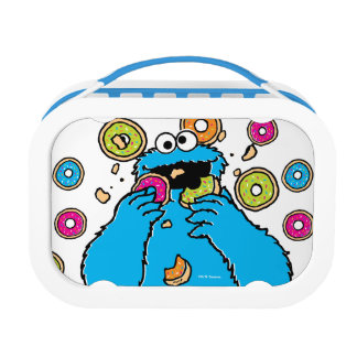 Cookie MonsterDonut Destroyer Lunchboxes