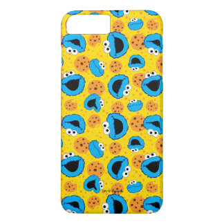 Cookie Monter and Cookies Pattern iPhone 7 Plus Case