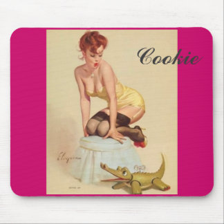 Cookie Pin-up mousepad