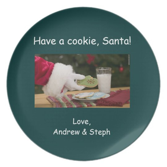 Cookie Plate for Santa
