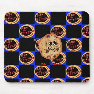"""cookie"" ron vs kitchen mousepad"