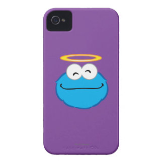 Cookie Smiling Face with Halo iPhone 4 Case