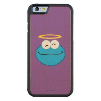 Cookie Smiling Face with Halo Maple iPhone 6 Bumper