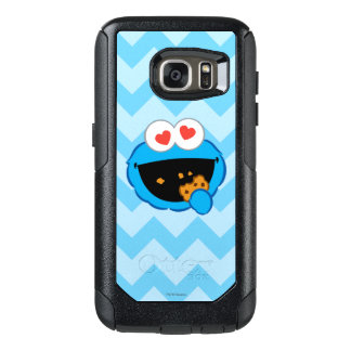 Cookie Smiling Face with Heart-Shaped Eyes OtterBox Samsung Galaxy S7 Case