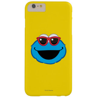 Cookie  Smiling Face with Sunglasses Barely There iPhone 6 Plus Case