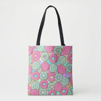 Cookie Sprinkle Donut Treat Tote Bag