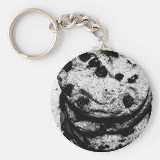 cookie stairs basic round button keychain