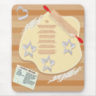 Cookie Star Mousepad