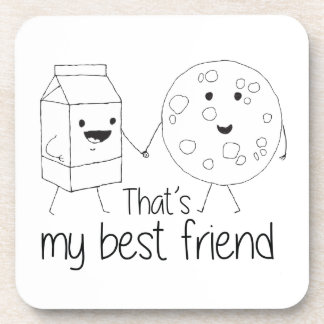 Cookies and Milk - Best Friends Coaster
