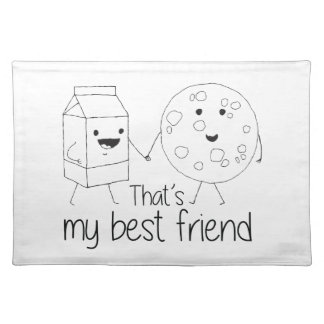 Cookies and Milk - Best Friends Place Mats