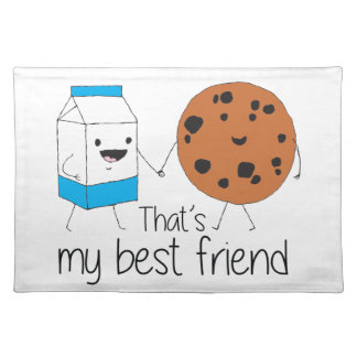 Cookies and Milk - Best Friends Placemats