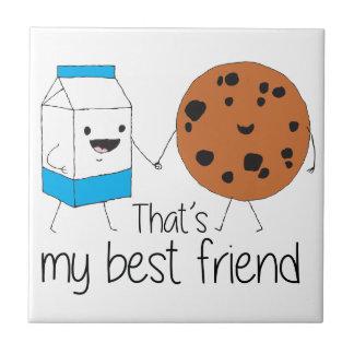 Cookies and Milk - Best Friends Tile