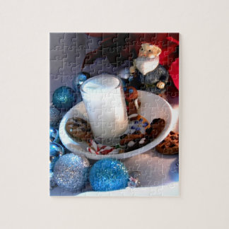 Cookies and Milk Gnome I Jigsaw Puzzle