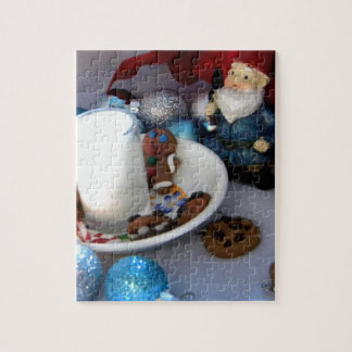 Cookies and Milk Gnome II Jigsaw Puzzle