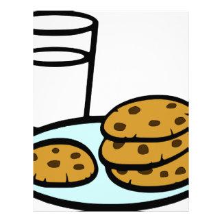 Cookies and Milk Letterhead