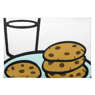 Cookies and Milk Placemat