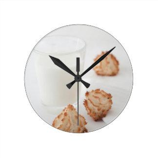 Cookies and Milk Wallclock