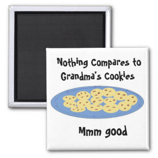 Cookies At Grandmas House Square Magnet