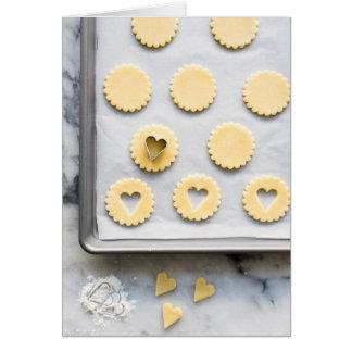Cookies blank greeting card
