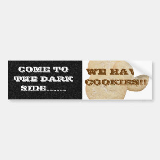 COOKIES BUMPER STICKER