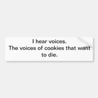 Cookies!!! Bumper Sticker