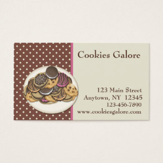 Cookies Business Card
