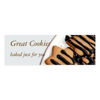 cookies pack of skinny business cards
