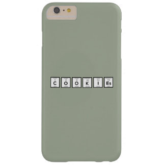 Cookies Chemical element Z57c7 Barely There iPhone 6 Plus Case