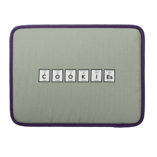 Cookies Chemical element Z57c7 Sleeve For MacBook Pro