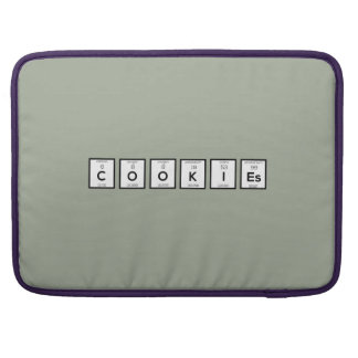 Cookies Chemical element Z57c7 Sleeve For MacBooks