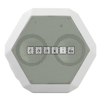 Cookies Chemical element Z57c7 White Bluetooth Speaker