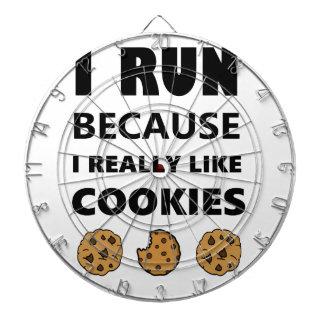 Cookies for health, Run running Dartboard
