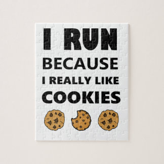 Cookies for health, Run running Jigsaw Puzzle