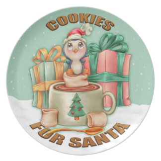 Cookies For Santa, Christmas Plate