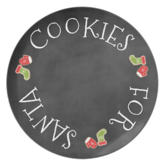 Cookie's For Santa Plate